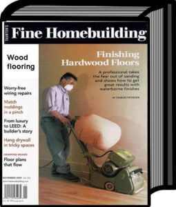 finishing wood floors